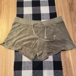 Juicy Couture Terry Cloth shorts